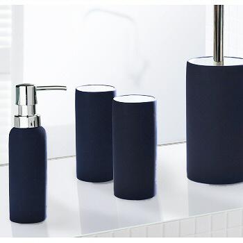 Non slip porcelain bathroom accessories matching tumbler for Cool bathroom sets