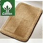 cotton reversible closeout bathroom rug sale